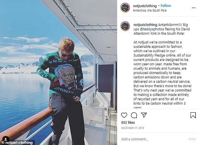 Did Ed Sheeran and Cherry Seaborn conceive their daughter in Antarctica? Unearthed picture taken in December proves the singer took a trip to the continent NINE MONTHS before Lyra Antarctica was born