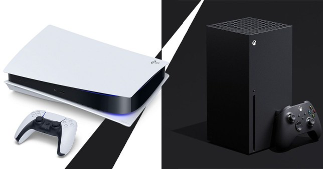 PS5 and Xbox Series X consoles