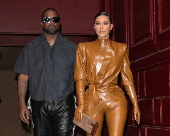 Kim Kardashian and Kanye West date night