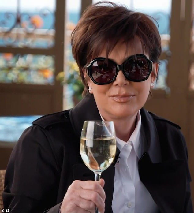 Feeling jealous:Kris Jenner showed off her jealous side in the latest teaser for Keeping Up With The Kardashians