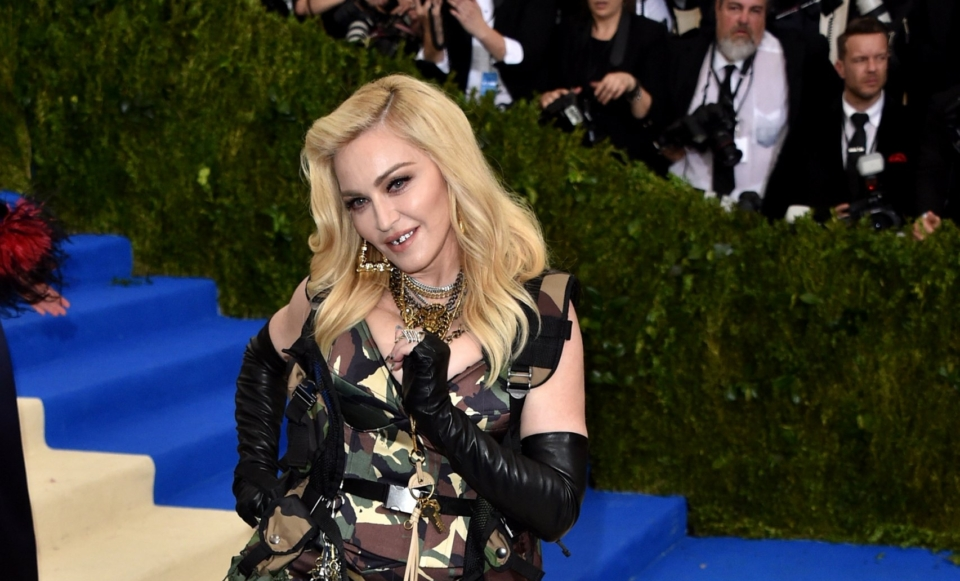 """NEW YORK, NY - MAY 01: Singer Madonna attends """"Rei Kawakubo/Comme des Garcons: Art Of The In-Between"""" Costume Institute Gala at Metropolitan Museum of Art on May 1, 2017 in New York City. (Photo by John Shearer/Getty Images)"""