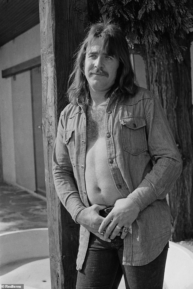 Drum legend: Lee Kerslake, who drummed for Uriah Heep and was featured on Ozz Osbourne's early '80s classics, died Saturday at 73 after a protracted battle with prostate cancer; shown near Paris in 1973