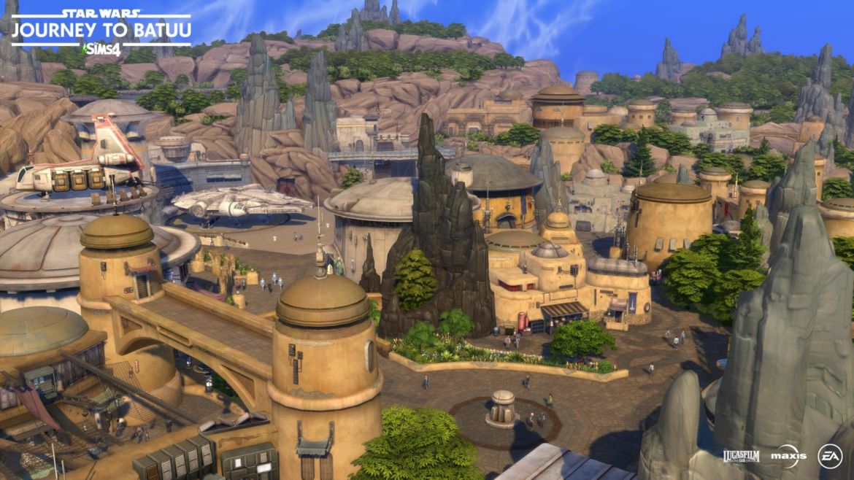 Sims 4 Journey to Batuu