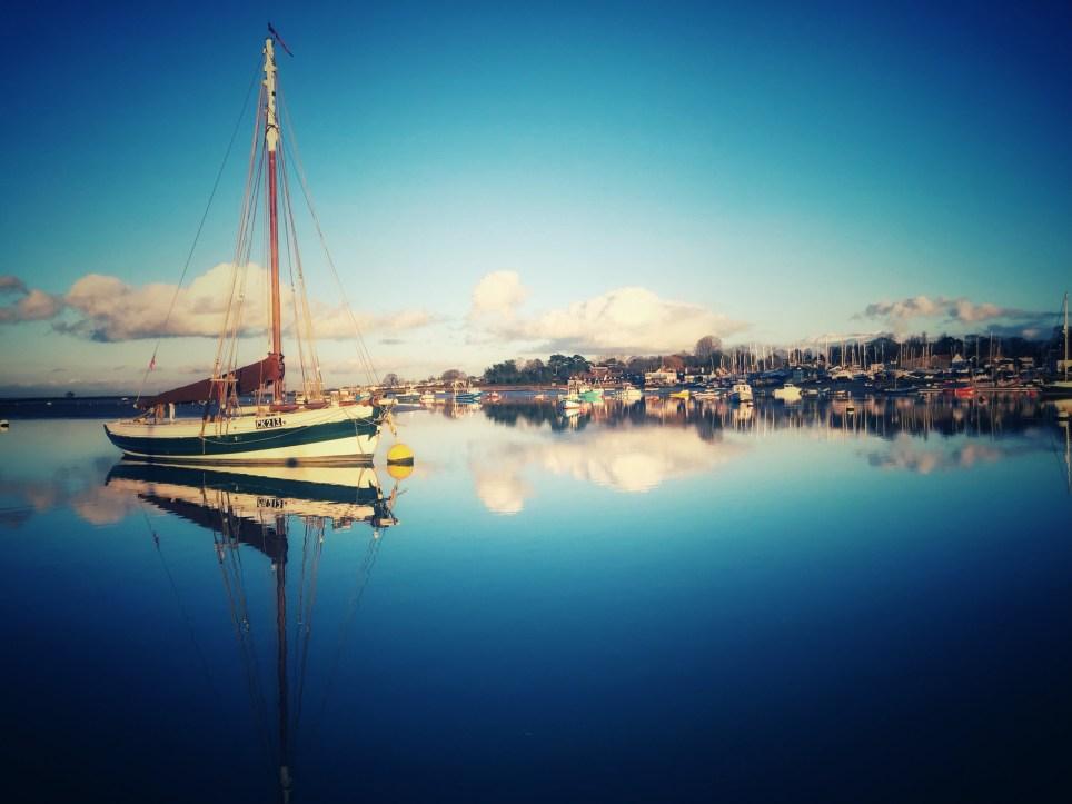 Mersea harbourside