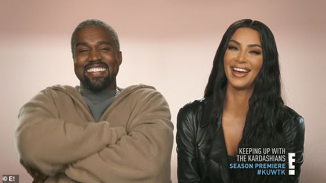 Famous: The show has certainly had a boost from the appearance of her husband Kanye West