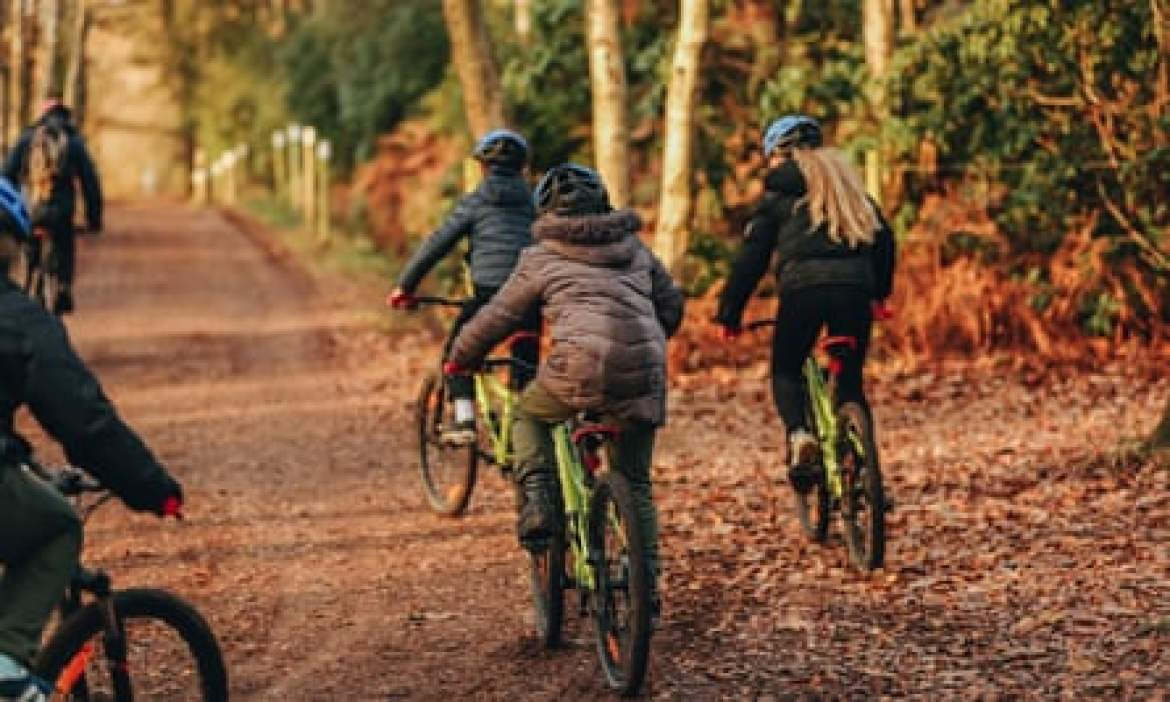 Avon Tyrell Camping & Cycling holidays in the New Forest Cycling 2