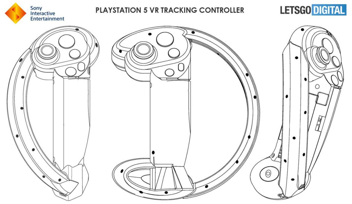PS5 VR controller patent