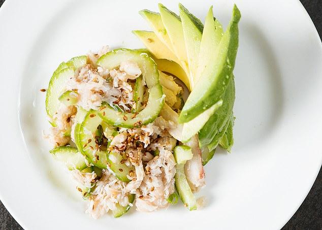 Crab and Cucumber Salad