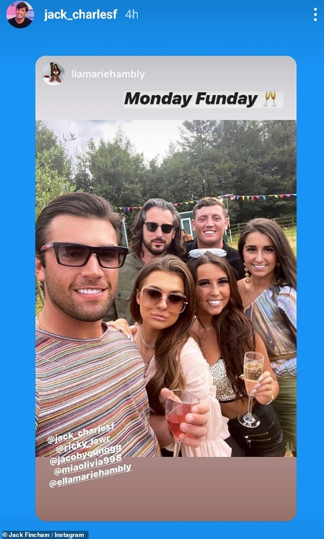 Evidence: Jack not only attended the event, but filmed himself and all the attendees, plastering it across his social media accounts