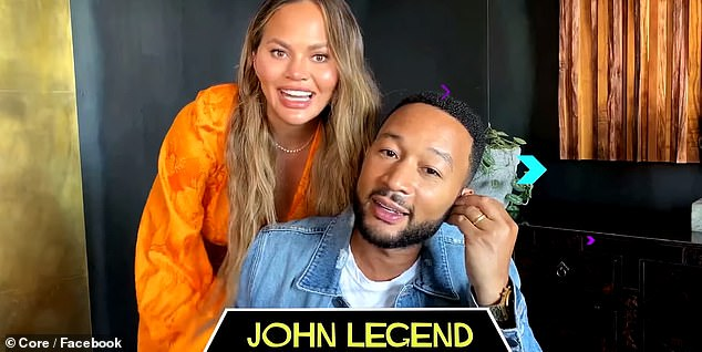 Fun: John Legend played football star Charles Jefferson, originally played by Forest Whitaker, and the role of his younger brother Little Charles