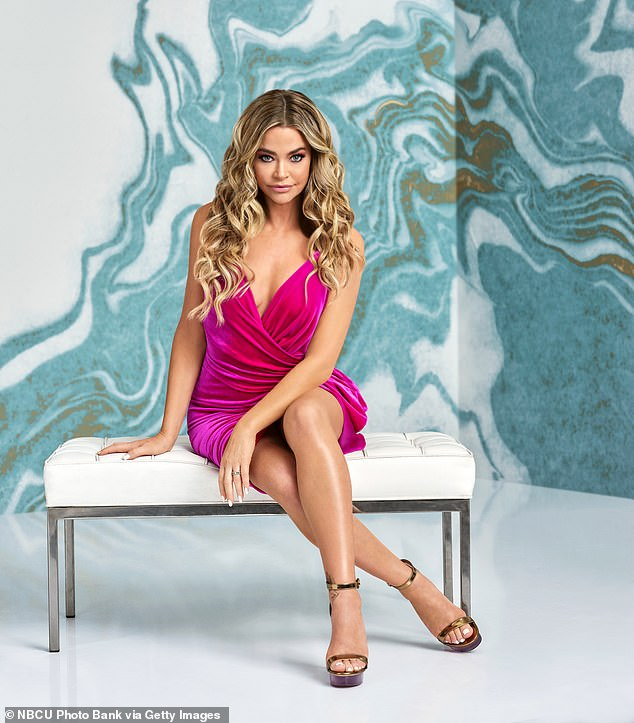 Happier times: Richards joyously announced in August of 2018 that she would be joining the cast of the popular series, which was made up of Lisa Vanderpump, Kyle Richards, Lisa Rinna, Erika Girardi, Teddi Mellencamp Arroyave and Dorit Kemsley, via a statement to People