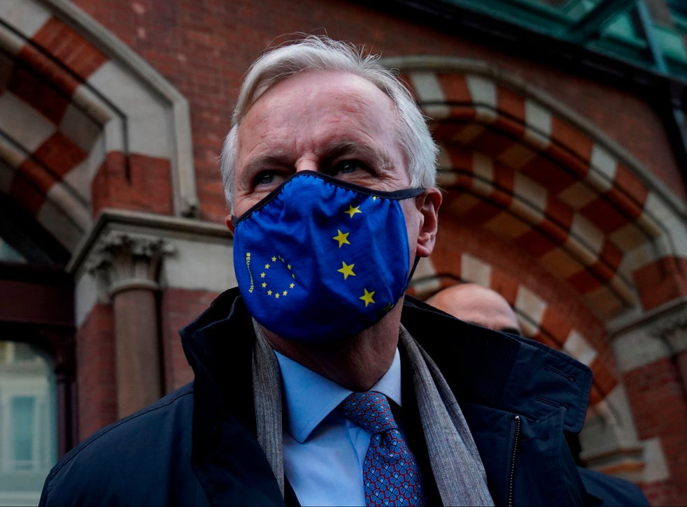 Michel Barnier in London for Brexit talks