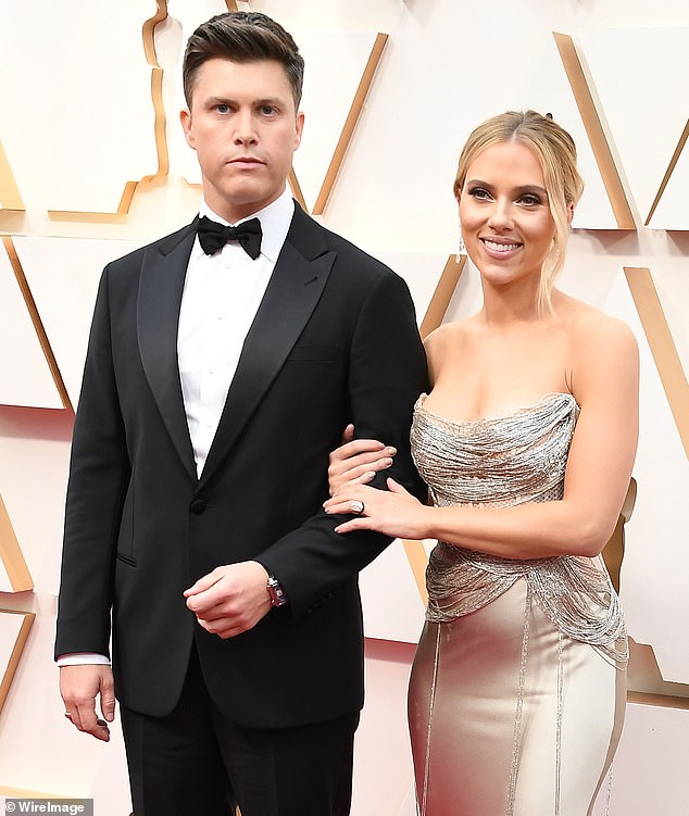 Mrs and Mr Jost: Scarlett Johansson and her fiance Colin Jost have gotten married in a secret ceremony. The actress and the SNL star wed in secret over the weekend after getting engaged in May 2019. Seen in February with her large diamond engagement ring