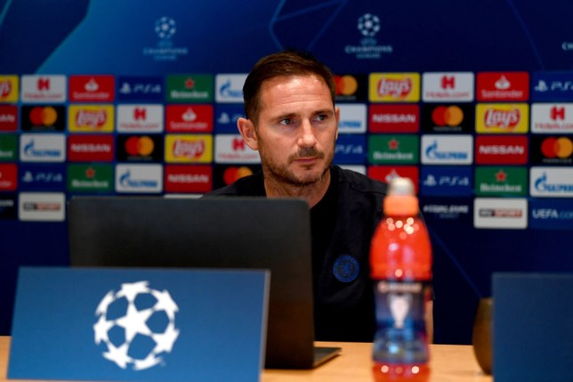 Frank Lampard's Chelsea begin their Champions League campaign against Sevilla