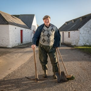 Farmer Hughes of Knockencule Farm in the Rhins, Dumfries and Galloway