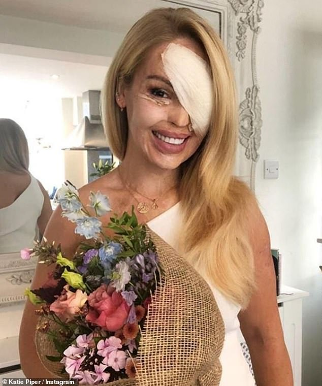 Bullying: The advocate, 37, recently underwent successful eye surgery to prevent her eyesight from deteriorating, but was mistakenly told she had 'gone too far' by Twitter users, who assumed she went under the knife for cosmetic reasons