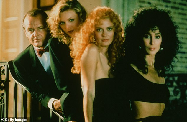 Plot: The Witches of Eastwick is about three single women in a picturesque village who have their wishes granted, at a cost, when a mysterious and flamboyant man arrives in their lives