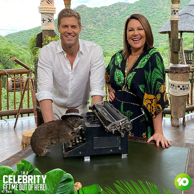 'It's the only one that isn't scripted that I know of': The former panel beater from Newcastle happens to be a big fan of the show, which is hosted by Dr Chris Brown and Julia Morris