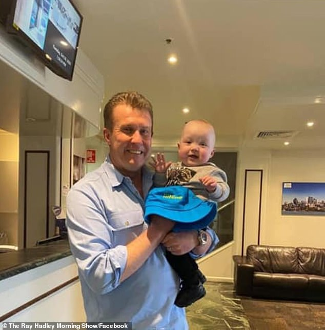 Adorable!A post shared to the official Facebook page of The Ray Hadley Morning Show documented the magic moment in a series of adorable photos