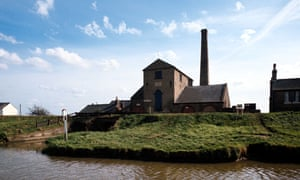 Steam driven pumping station on the Great Ouse