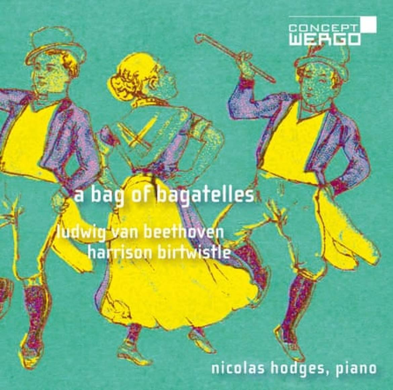 Nicolas Hodges: A Bag of Bagatelles album cover