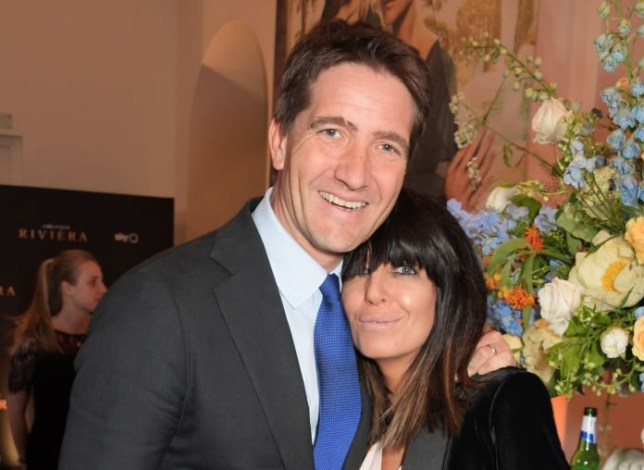 Claudia Winkleman and husband Kris Thykier