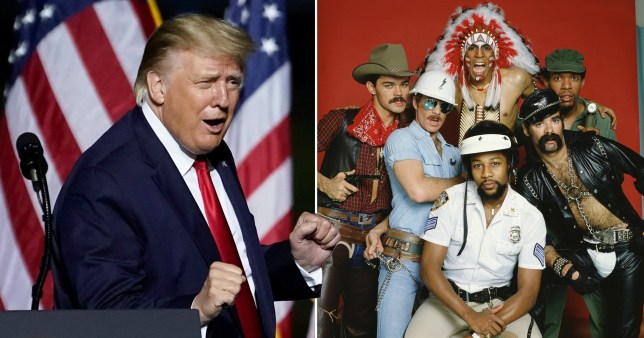 Trump and the Village People