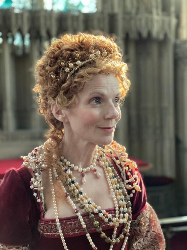 Geri Horner as Queen Elizabeth I