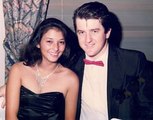 Sean and Lorraine in 1990. 'We had all the same tastes and we just clicked on so many different levels,' says Sean.