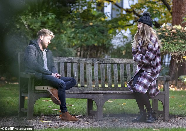 It was OK! Sam later apologised for causing any offence and insisted he asked Zara for her permission to share the post