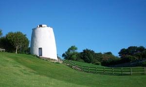 White  Century Priory Dovecot near Crail Harbour,
