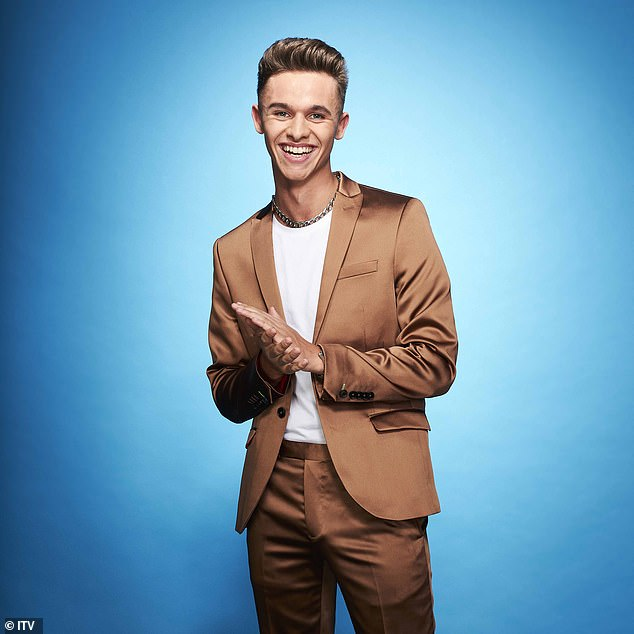 Can't wait: In September, Joe-Warren, who plays Jacob Gallagher on the soap, said he was 'excited' about the prospect of appearing on the show