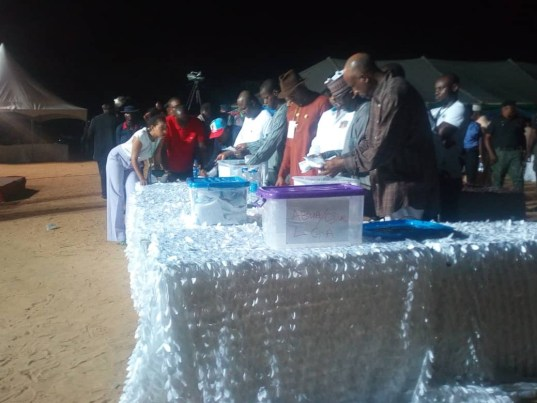 ameachi counting votes in rivers state