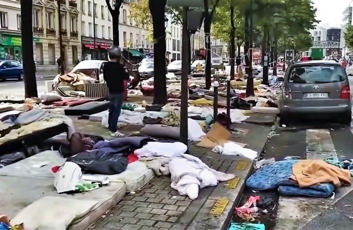 【衝撃:難民問題】破壊されたパリ:かつての光の街がいかに ...
