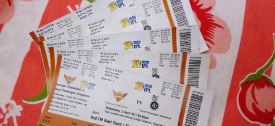 IPL match tickets