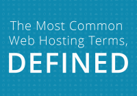 35 Common Web Hosting Terms, Defined