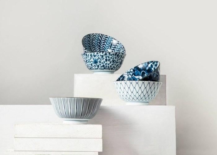 Set of Porcelain Bowls