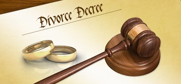divorce decree by Orange County Law firm