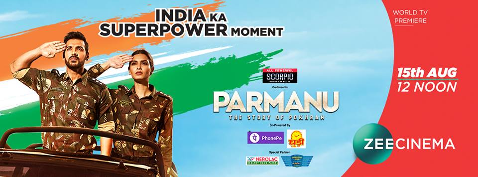 Parmanu on Zee Cinema