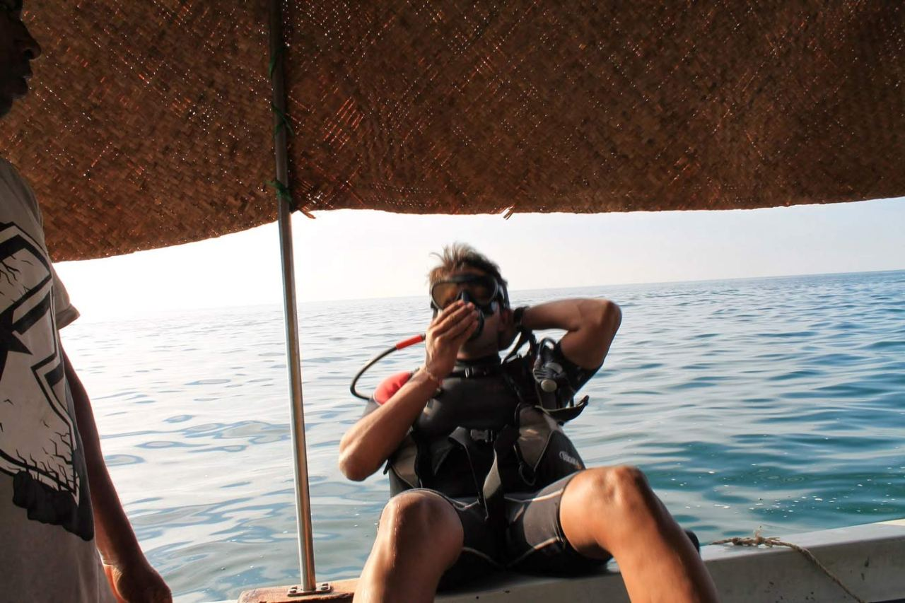 Experience Scuba Diving at Grand Island in Goa 4