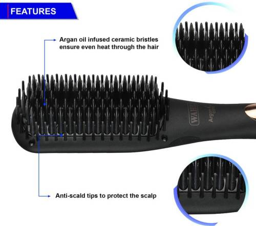 Wahl Argan Care Smart Brush Review 1