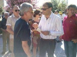 Mazzei incontra Vendola al Puglia Pride
