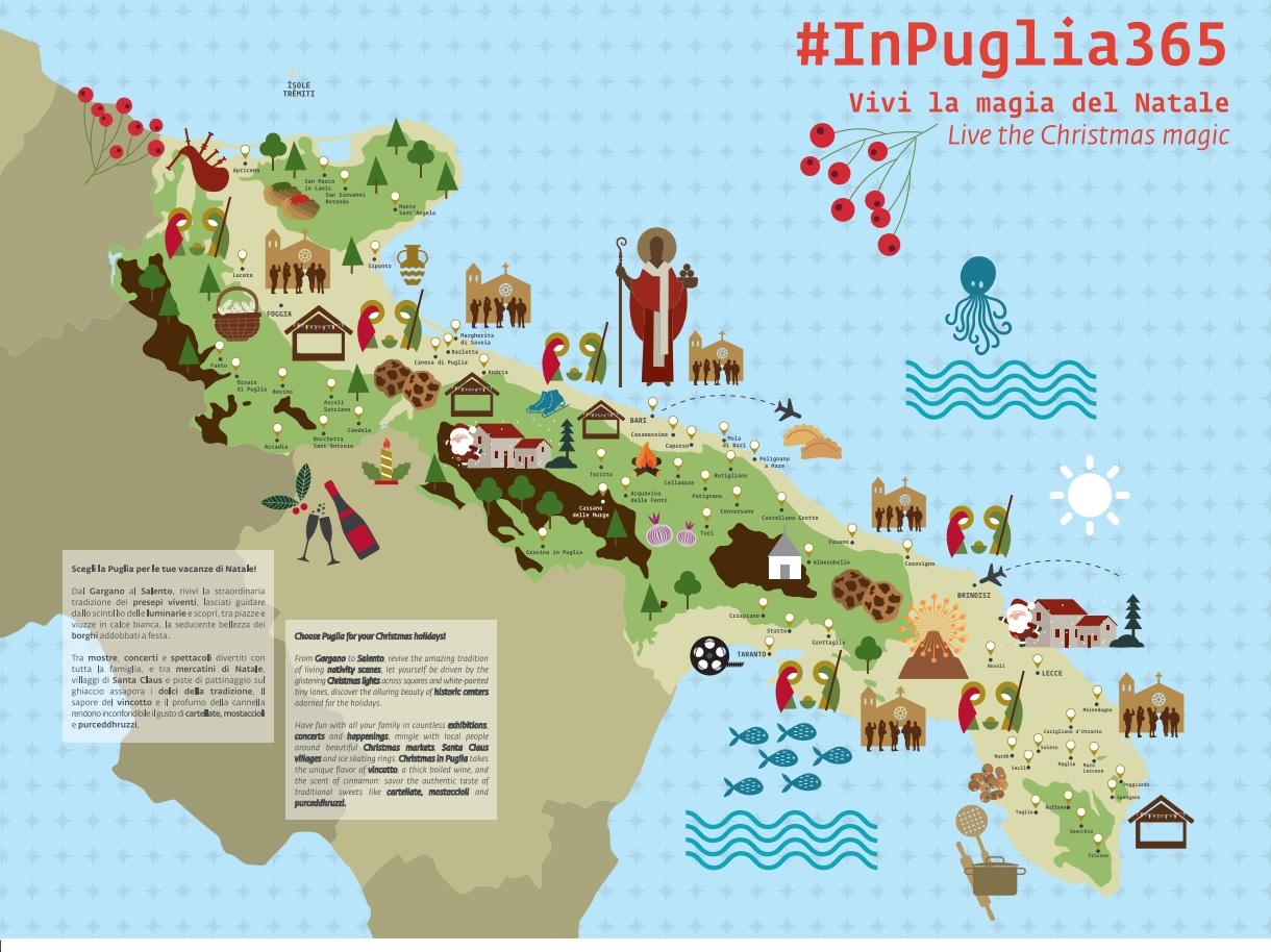 Cartina Della Puglia Turistica.Biennio Storico Per La Puglia Turistica Newsimedia