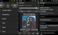 Five Excellent Radio Apps for Android : Tunein Screenshots