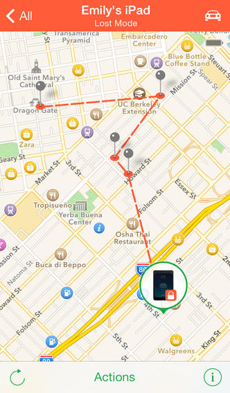 Find My iPhone apps for iphone