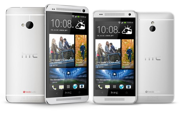 HTC One Overview Front and Backend View