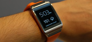 Samsung Galaxy Gear Only for 150 US$: Galaxy Gear Uhr Wetter