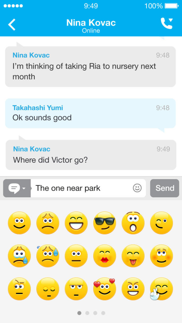 icon Skype for iPhone download free