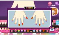 Playing the Nail Manicure Game : Apps Download  Baby Nail Manicure Makeover & Decorate Iphone Ipad