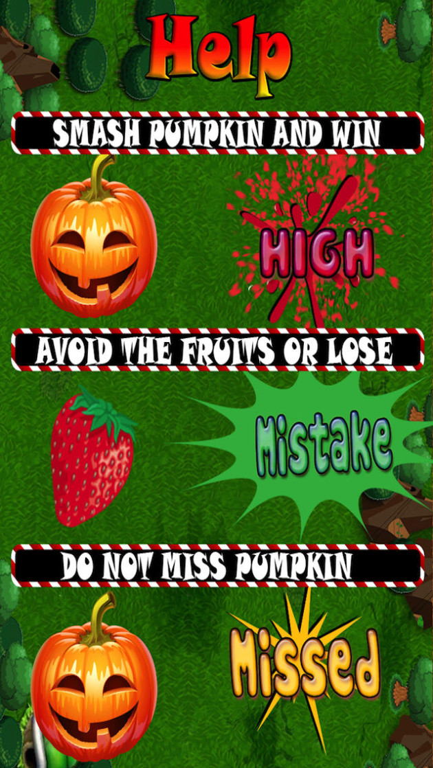 details Awesome Pumpkin Wrecking Game for iphone